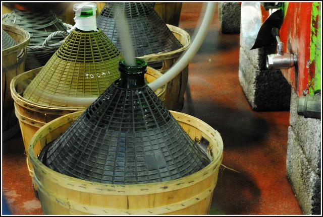 Damigiane di vino