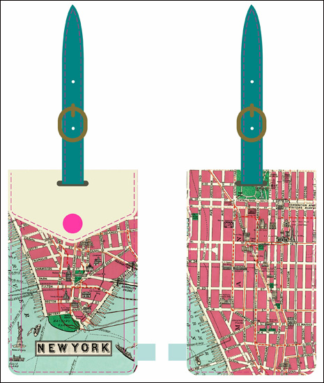 luggage tag Stanfords