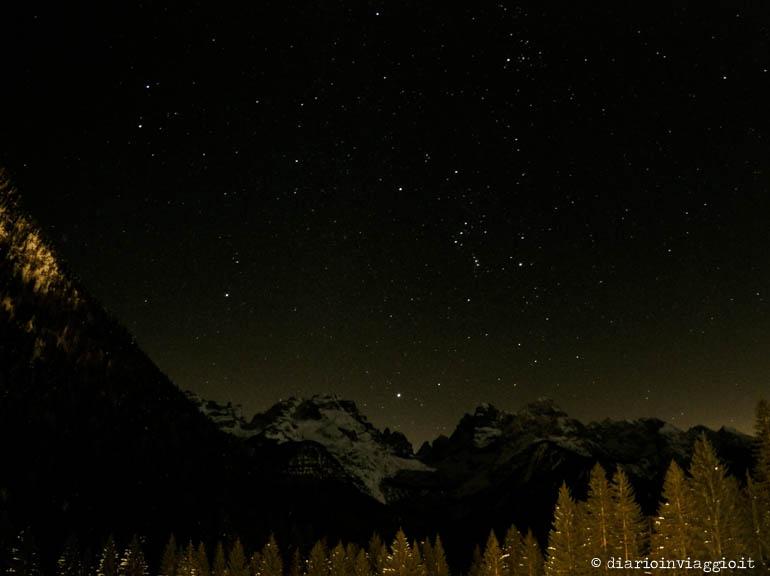 Meraviglia è... ammirare un cielo stellato