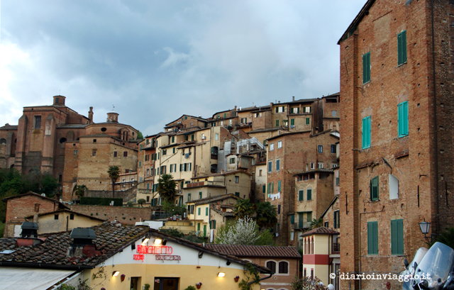 centro storico medievale di Siena