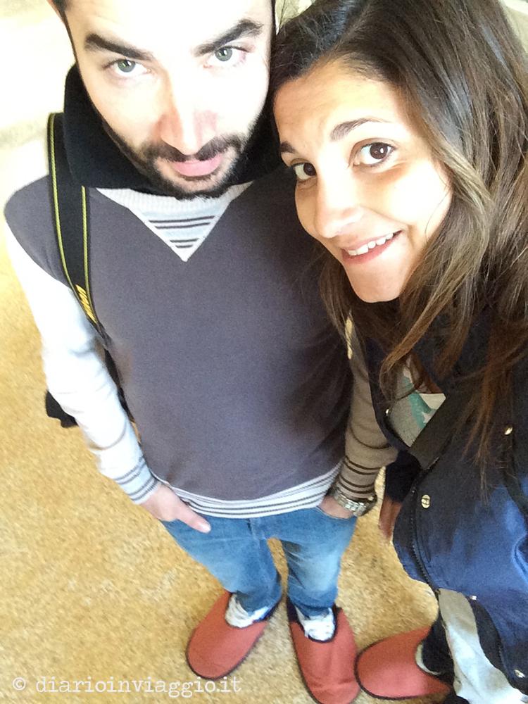A Villa Maser con le pantofole