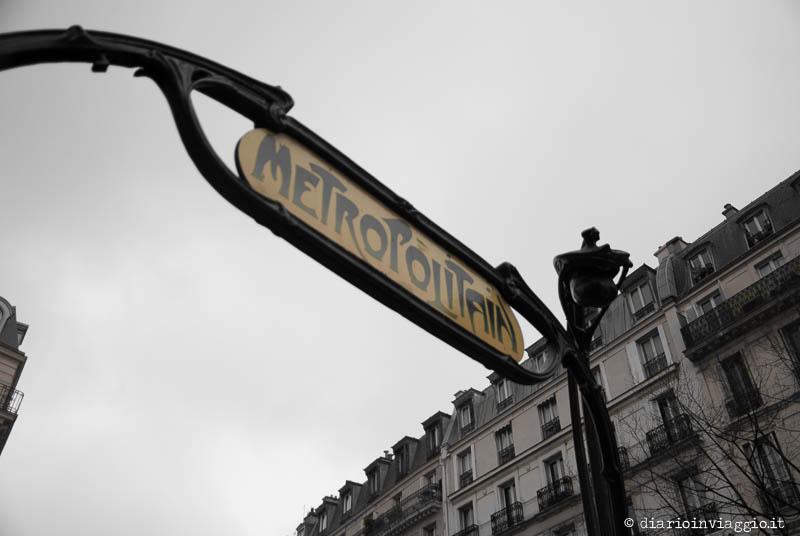 La metro di Parigi collega benissimo i diversi punti della città