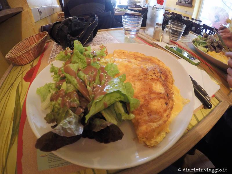 Mangiare a Parigi è piuttosto caro