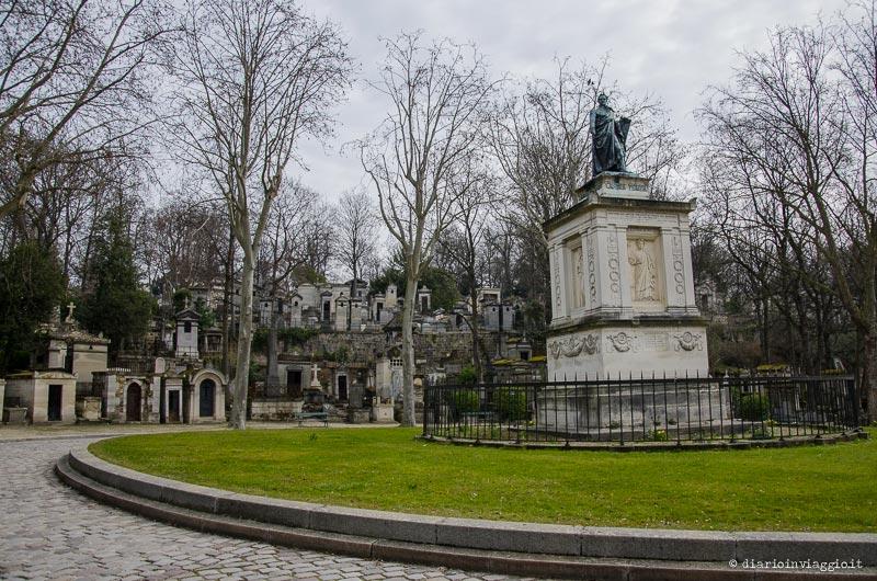 Il cimitero Père Lachaise