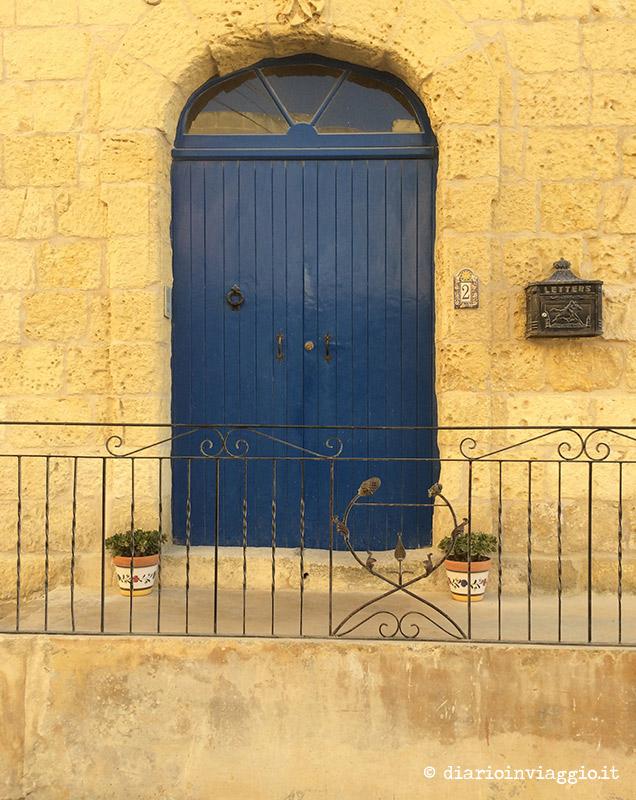 Una delle porte del villaggio di San Lawrenz a Gozo