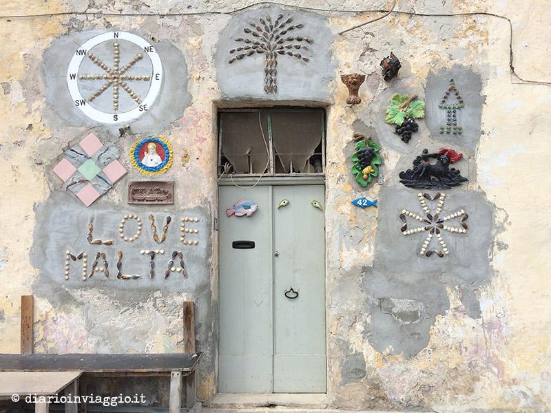Arte sulle porte di Marsaxlokk, Malta