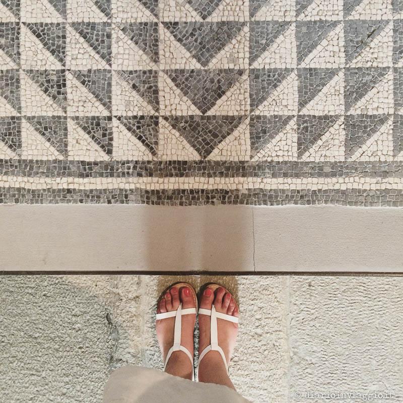 Mosaico al Museo Archeologico Concordiesea