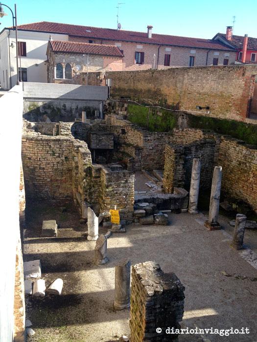 reperti basilica di Concordia Sagittaria