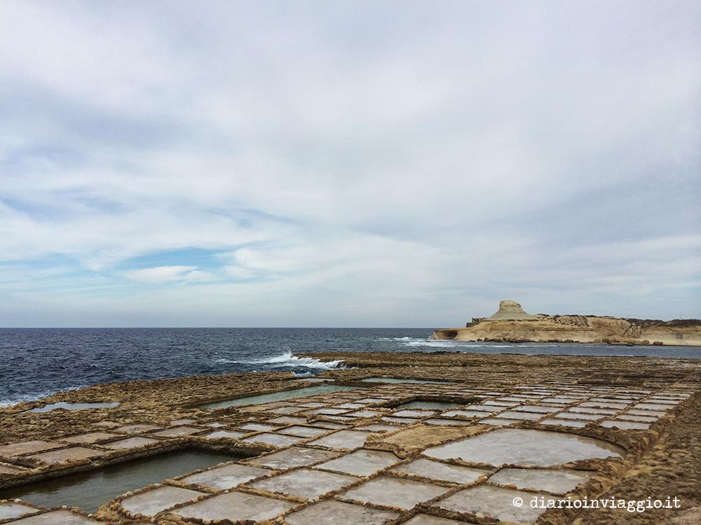 Le saline di Gozo