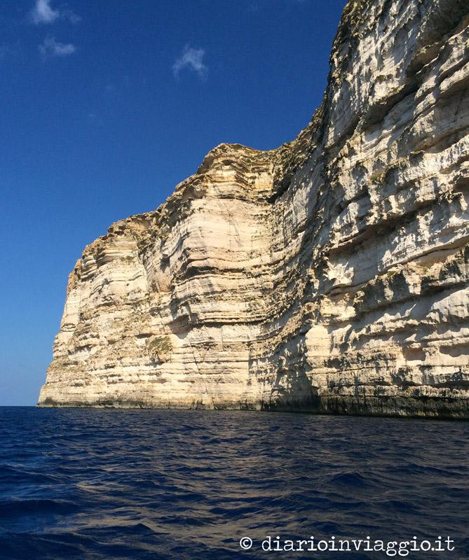 Le scogliere di Gozo