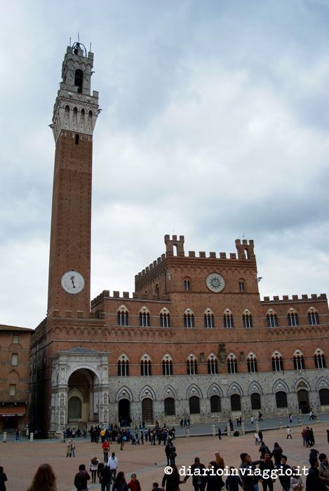 Torre del Mangia e Palazzo Pubblico