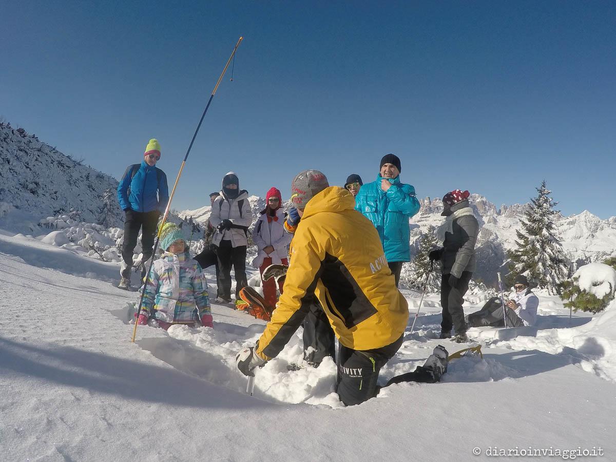 Ciaspolata in Paganella con le guide di Activity Trentino