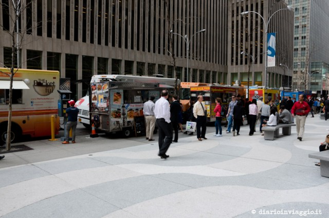 Food truck a New York