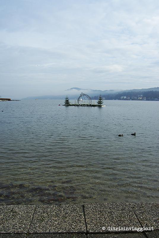 Presepe nel lago di Velden