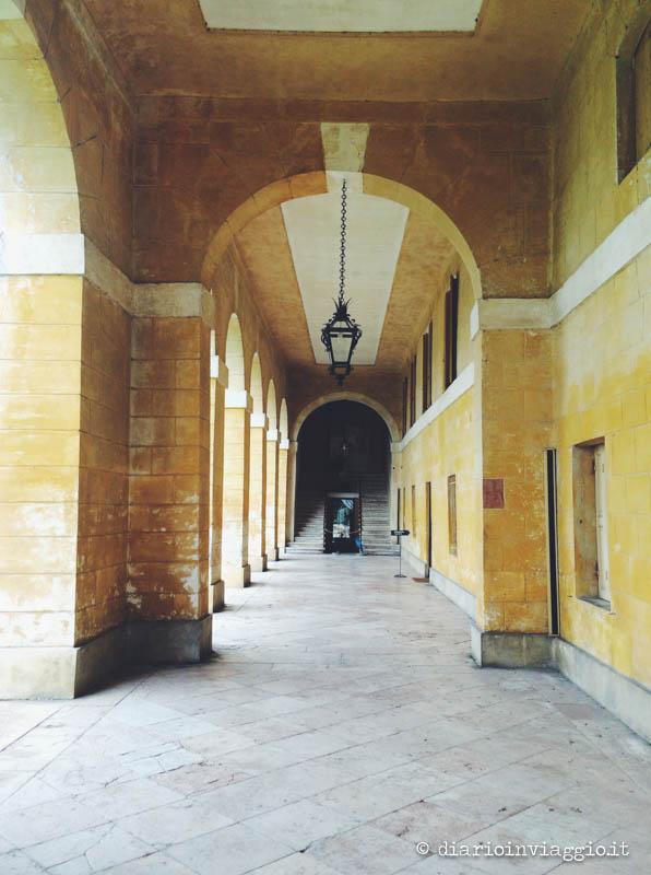 Il portico di Villa Barbaro a Maser
