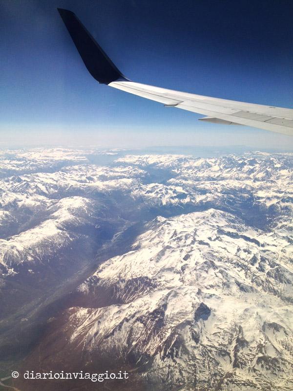 Vista sulle montagne svizzere