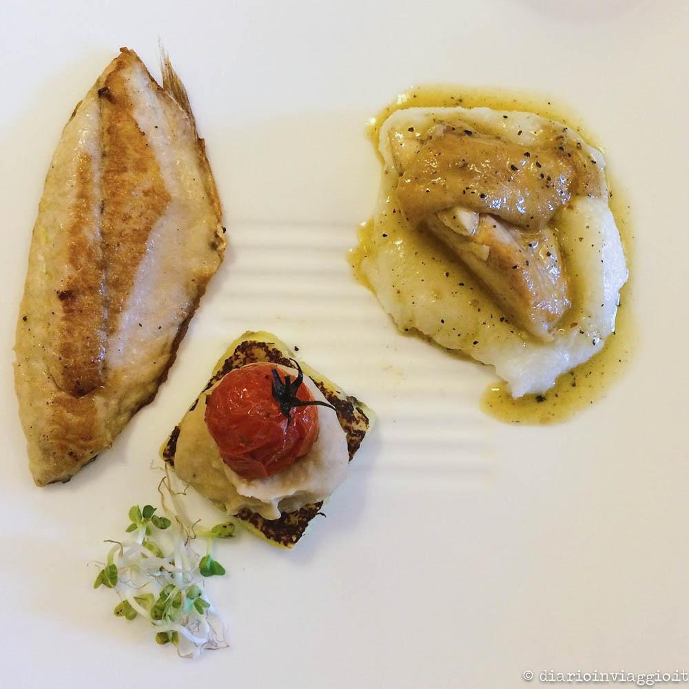 Boreto alla gradese e altre delizie di pesce - Ristorante Zero Miglia, Grado